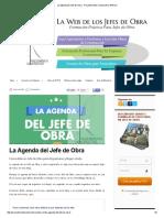 La Agenda Del Jefe de Obra - Procedimiento Constructivo ARDILA