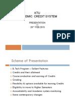 KTU Credit System