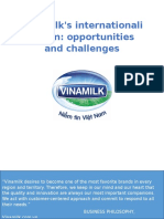 Vinamilk internationalization