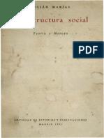 La Estructura Social Teoria y Metodo