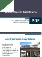 Generalidades de Administracion Hos