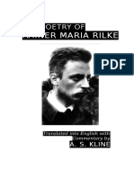 Poetry of Rainer Maria Rilke, The - Rainer Maria Rilke