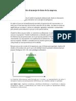La Siguiente Imagen Muestra El Modelo de Pirámide Informacional
