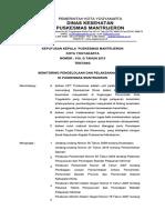 SK 018.G Monitoring Pengelolaan Dan Pelaksanaan Program UKM