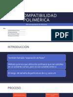 Incompatibilidad Polimérica