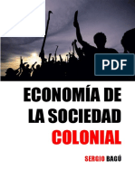 Economía de la Sociedad Colonial