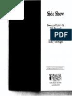 Side Show Script