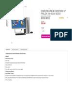 Computadora de Escritorio HP Pavilion 550-002LA Negra