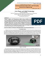 E-BALL RESEARCH PAPER