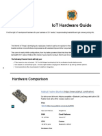 IoT Hardware 2016 Prototyping Boards and Development Kits