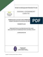 Pub_20140109_DP.U. (B) 9_RAF Penetapan Laluan Yang Dibenarkan Dan Perisytiharan Pos Kawalan Imigresen Limbang Sarawak