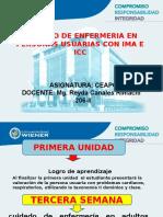 Clase 3 Cuidado Enfermero en IMA E ICC 153 0