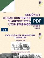 Sesión 5.1- Clarence Stein y Los Utopistas Modernos