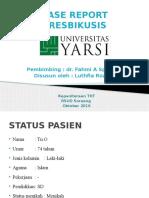 Case Report Presbikusis - Tht