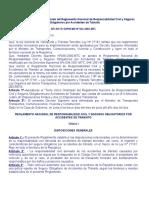 Reglamento Nacional de Responsabilidad Civil y SOAT