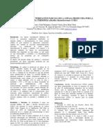 Purificación y caracterización parcial de la lipasa producida por la bacteria termófila Bacilus thermoleovorans CCR11