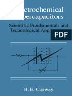 Electrochemical Supercapacitors Scientific Fundamentals and Technological Application