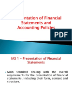 TOA_Presentation of FS and Accounting Policies