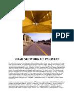 Road Network of Pakistan