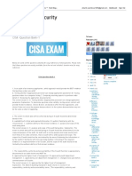 CISA Question Bank-1