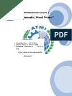 Laporan Proyek Digital (Automatic Meat Mixer)