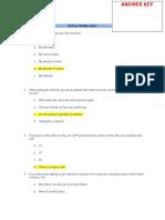 Activity 2 Online Safety Quiz Answer Key