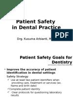LBM 5. Patient Safety in Dental Practice