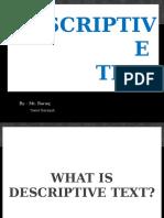 desciptive text presentation 1