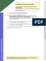 Treinamento de Força e Sistema Vascular 2005 J Appl Physiol
