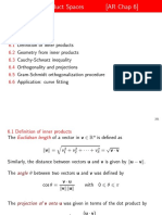 6-Inner Product Spaces
