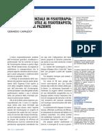Diagnosi Differenziale in Fisioterapia - Articolo Scientifico, G.capaldo, Da Scienza Riabilitativa, 2007 (23 Pagine)