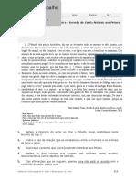 Fichas de Trabalho - Educação Literária