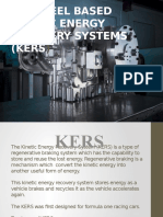 The Kinetic Energy Recovery System (KERS)