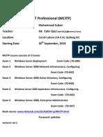 2012 pdf mcitp books