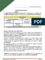VII) REGLAS DE REGISTRACIÓN