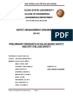 (Edited)Preliminary Research-Value Based Safety