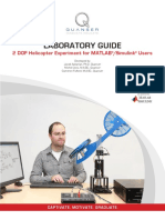 2 DOF Helicopter Courseware Sample for MATLAB Users