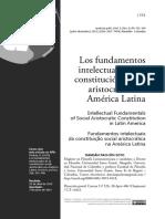 Los Fundamentos Intelectuales De La Constitucion Social
