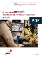 Disrupting Cash Accelerating Electronic Payments in India