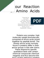 60623656 Colour Reaction of Amino Acids