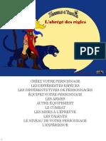 Abrege Des Regles de Tunnels & Trolls 8 (10194883)