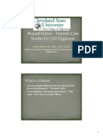 Beyond Failure Forensic Case Studies in Civil Engineering