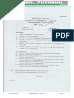 10th Social Science Sa-1 Original Paper 2016-17-5