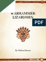 Ravening Hordes - Lizardmen 8th Ed