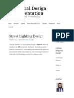 Street lighting tutorial.pdf