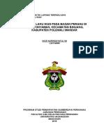 Laporan Lengkap Praktik Lapang Terpadu 2016 TINGKAH LAKU IKAN