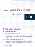 XSS Attacks and Defenses.ppt