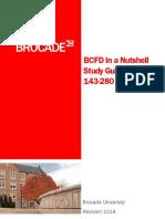 Brocade Bcfd Nutshell Certification Study Tools