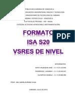 Formato ISA - S20