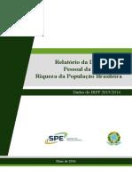 Relatorio Distribuicao Da Renda 2016-05-09